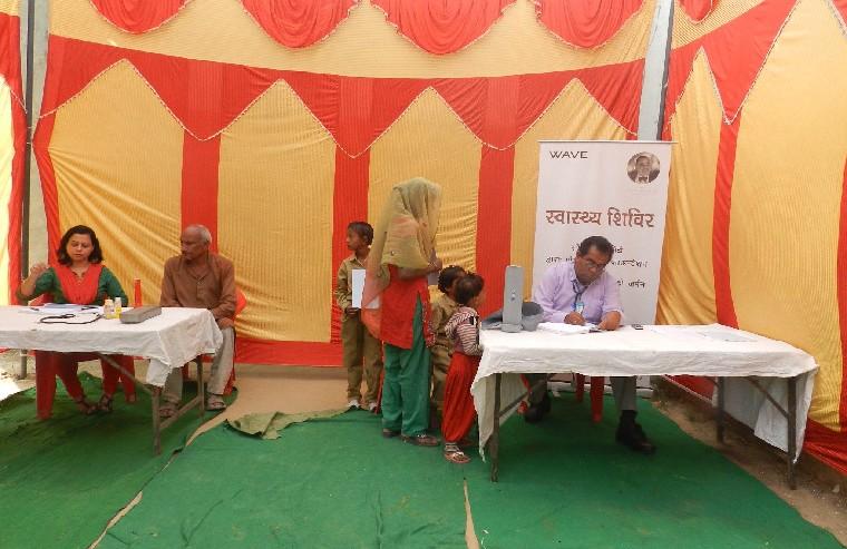 Free Health Camp in Dinanathpur