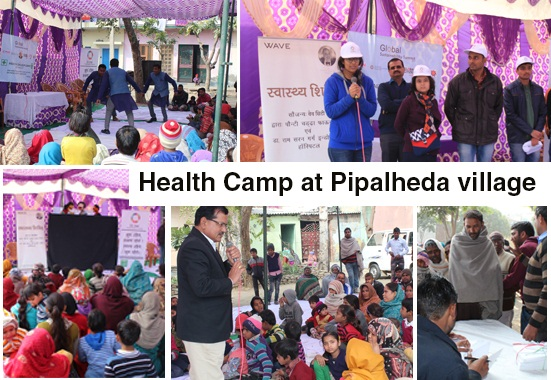 PCF is on a mission to spread Health Awareness among unprivileged villagers