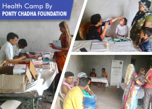 Health Camp: Mehrauli Village, Ghaziabad