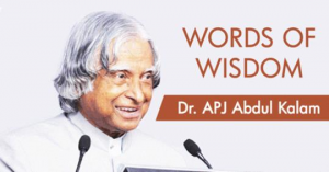 Inspiring quotes by abdul kalam
