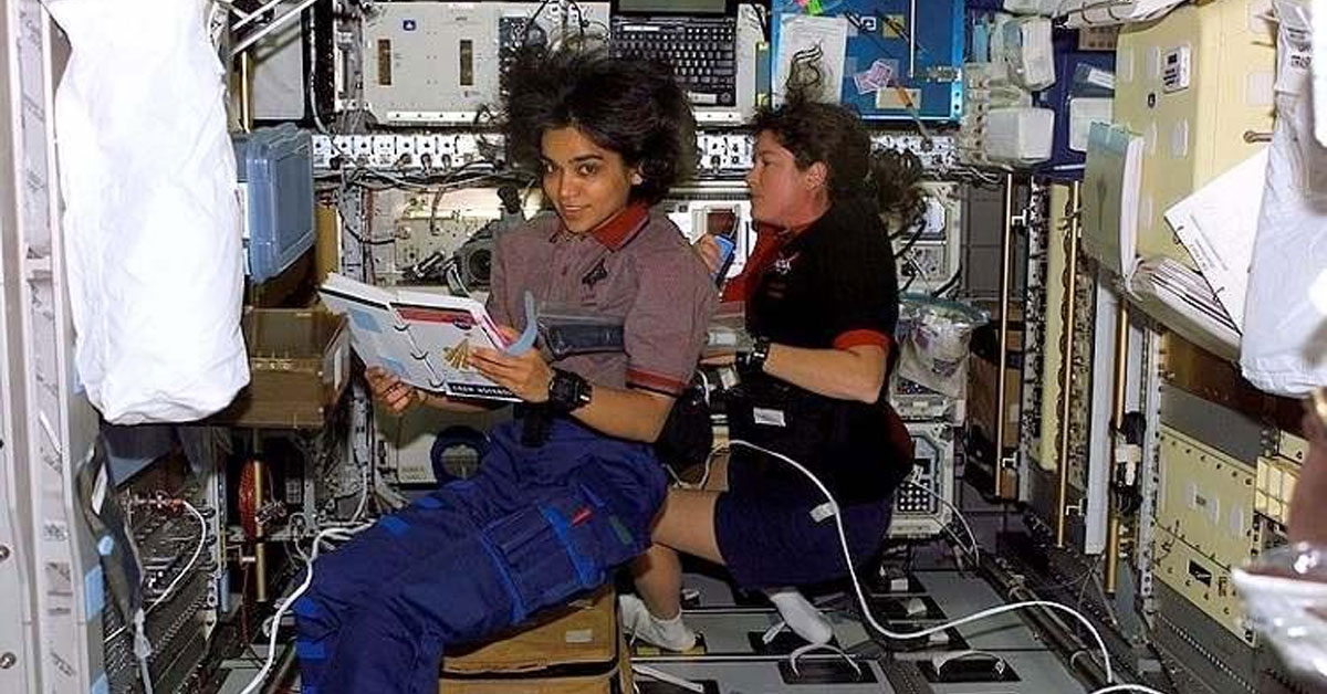 Kalpana Chawala in Space