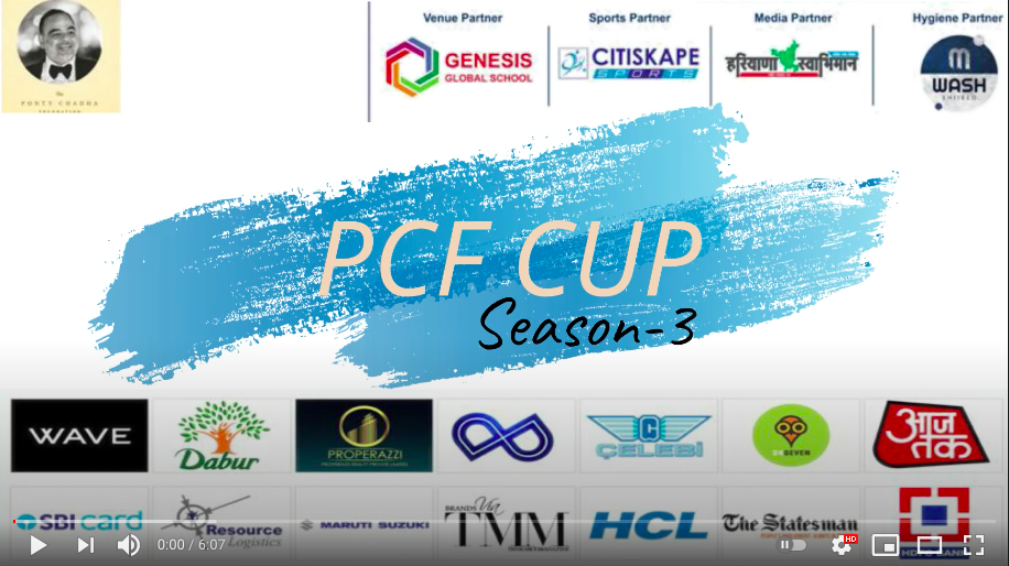 Ponty Chadha Foundation unveils trophy for PCF Cup Cricket season III